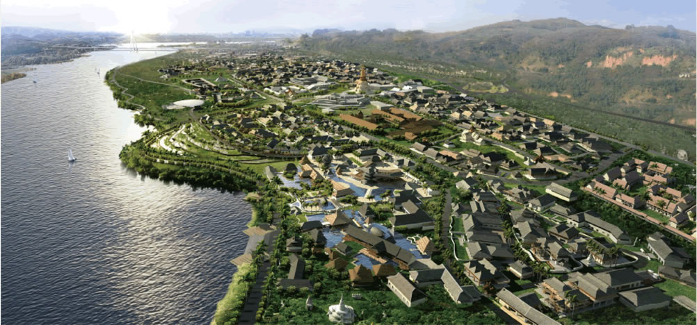 西双版纳-告庄西双景景观与建筑设计