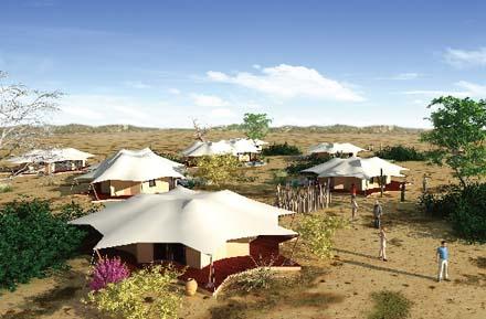 克拉玛依•玛依格勒荒漠景区景观节点概念性设计