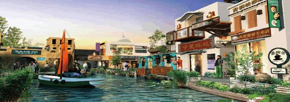 宁夏-沙湖风情小镇节点概念性设计