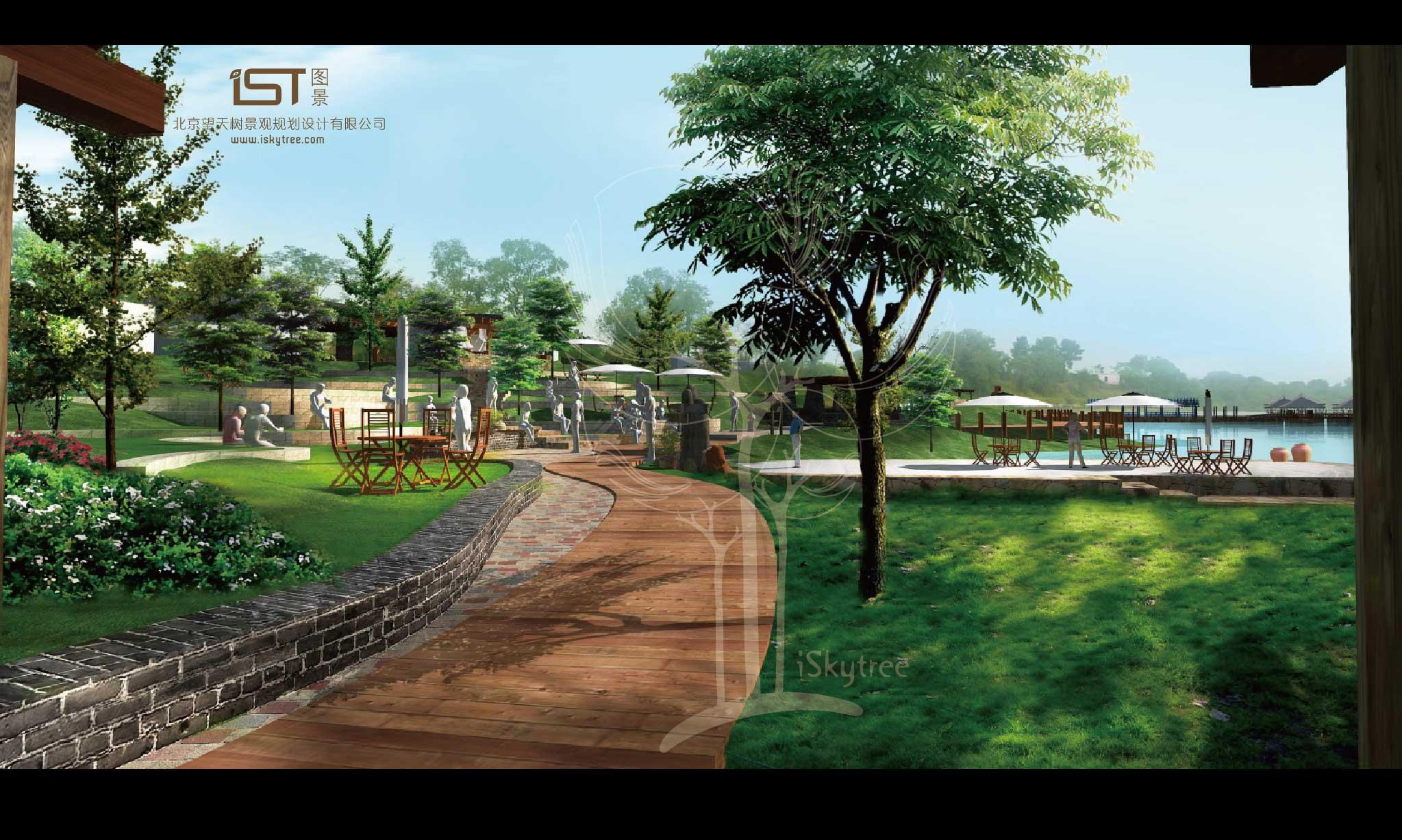 永新县滨江主题公园及中心景观带景观设计