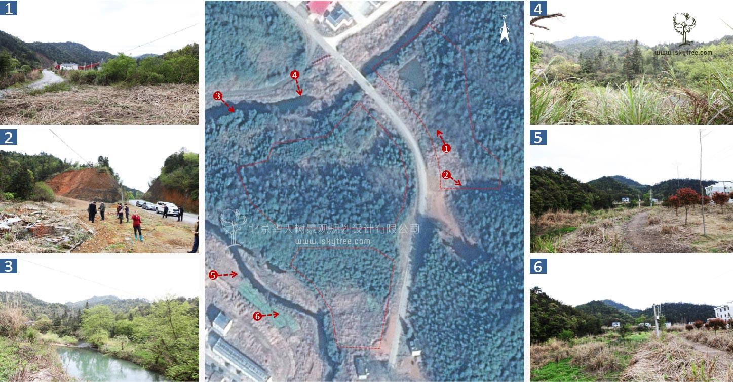 乡村qy188千赢国际规划新农村建筑景观设计现状分析图