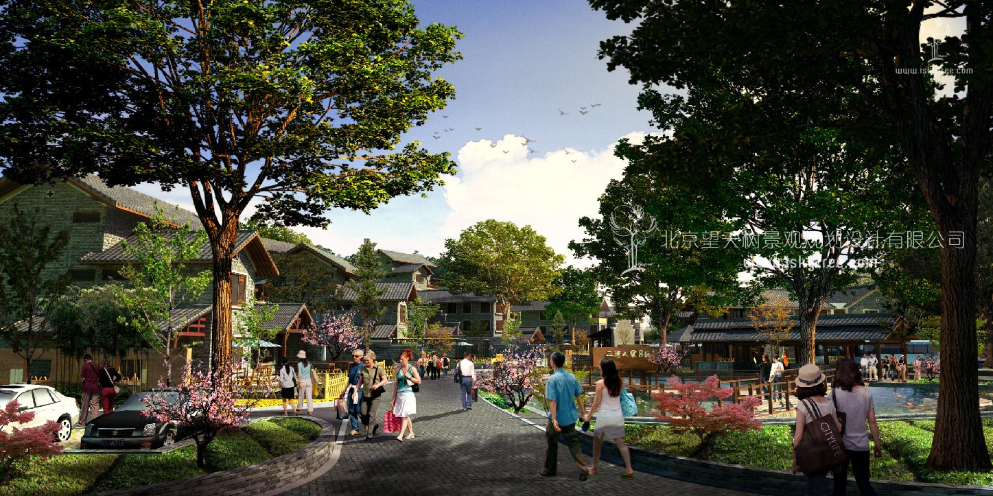 休闲乡村qy188千赢国际商业街区规划建筑设计公司