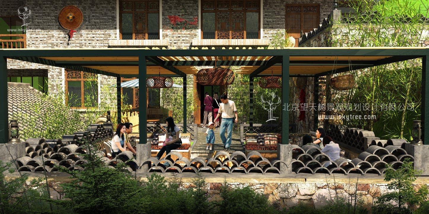 陕南岭南风格建筑景观获奖设计方案