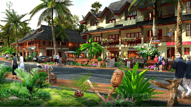 特色小镇商业购物街业态策划设计案例