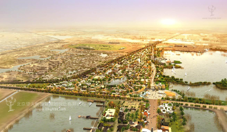 西部风情特色小镇建筑景观规划设计方案