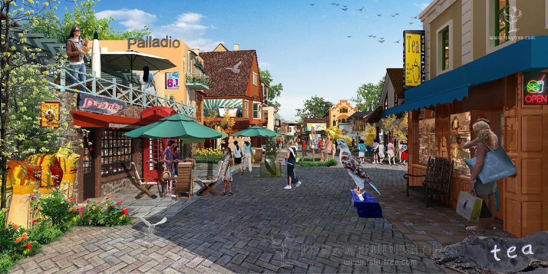 烟台万国风情小镇建筑景观规划设计方案
