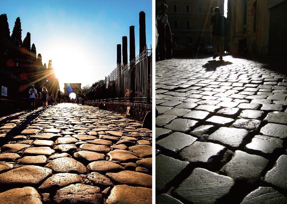 石材铺装景区道路设计