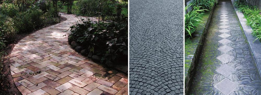旅游景区道路材质透水砖