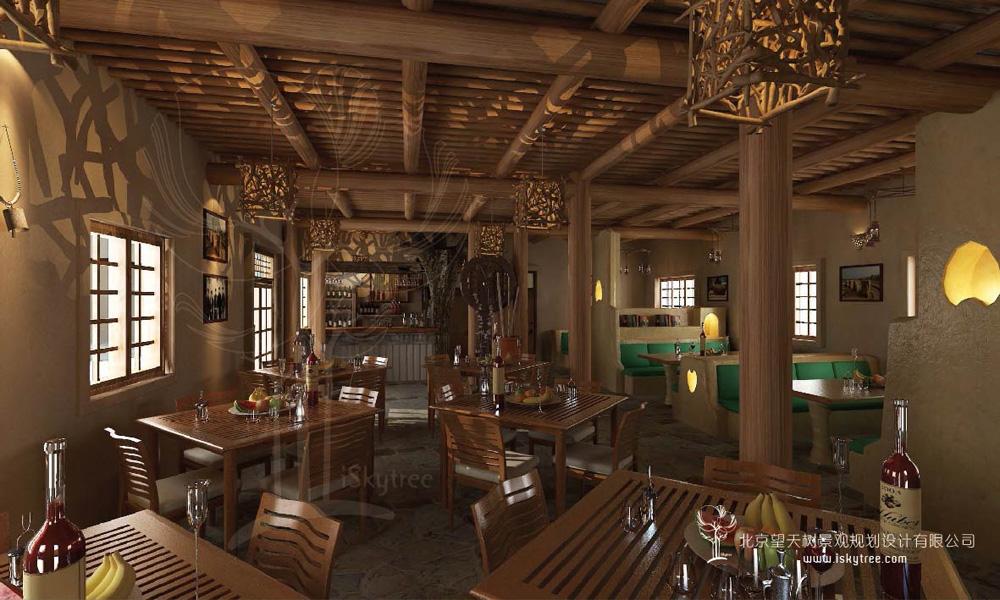 西部民俗风情主题餐厅设计