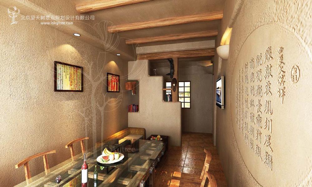 西部风情主题餐厅设计