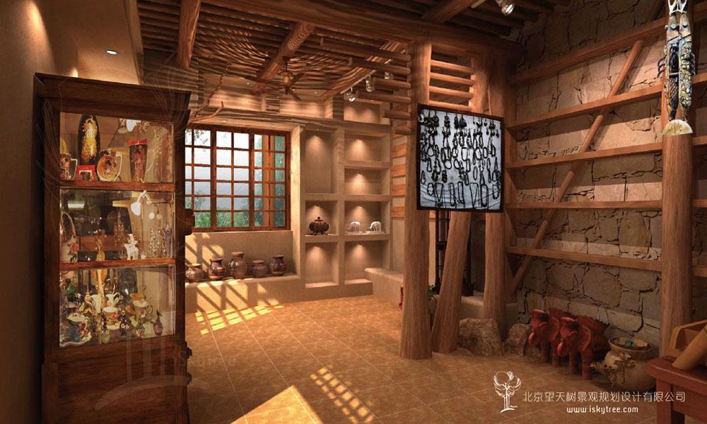 民俗旅游商品店设计