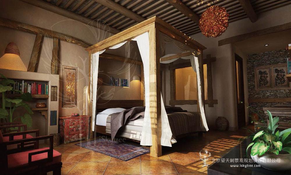一带一路主题精品酒店客房设计