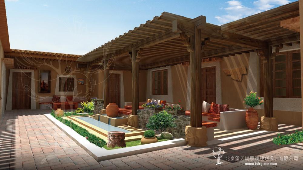 精品酒店庭院设计