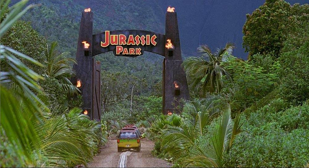 侏罗纪公园大门设计 Jurassic Park