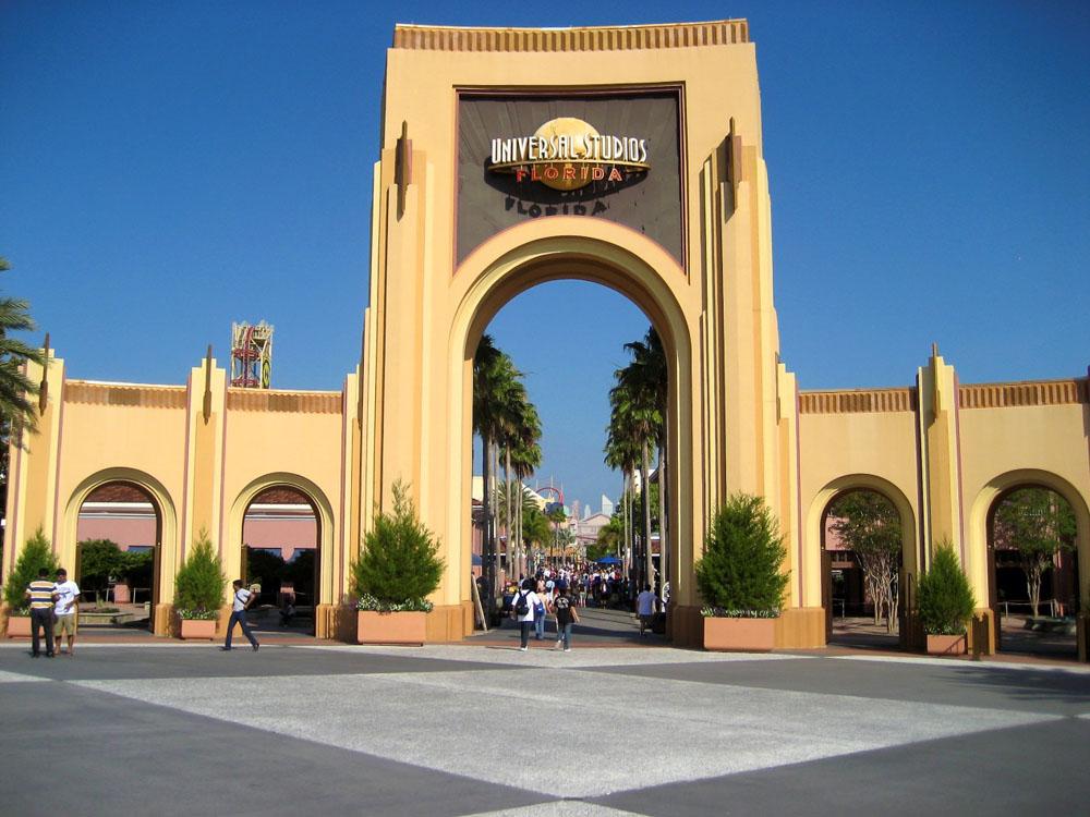 佛罗里达环球影城入口 Universal Studios Florida