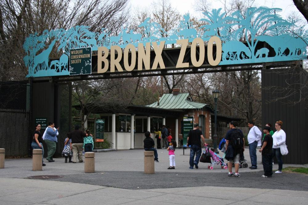 布朗克斯动物园大门 Bronx Zoo