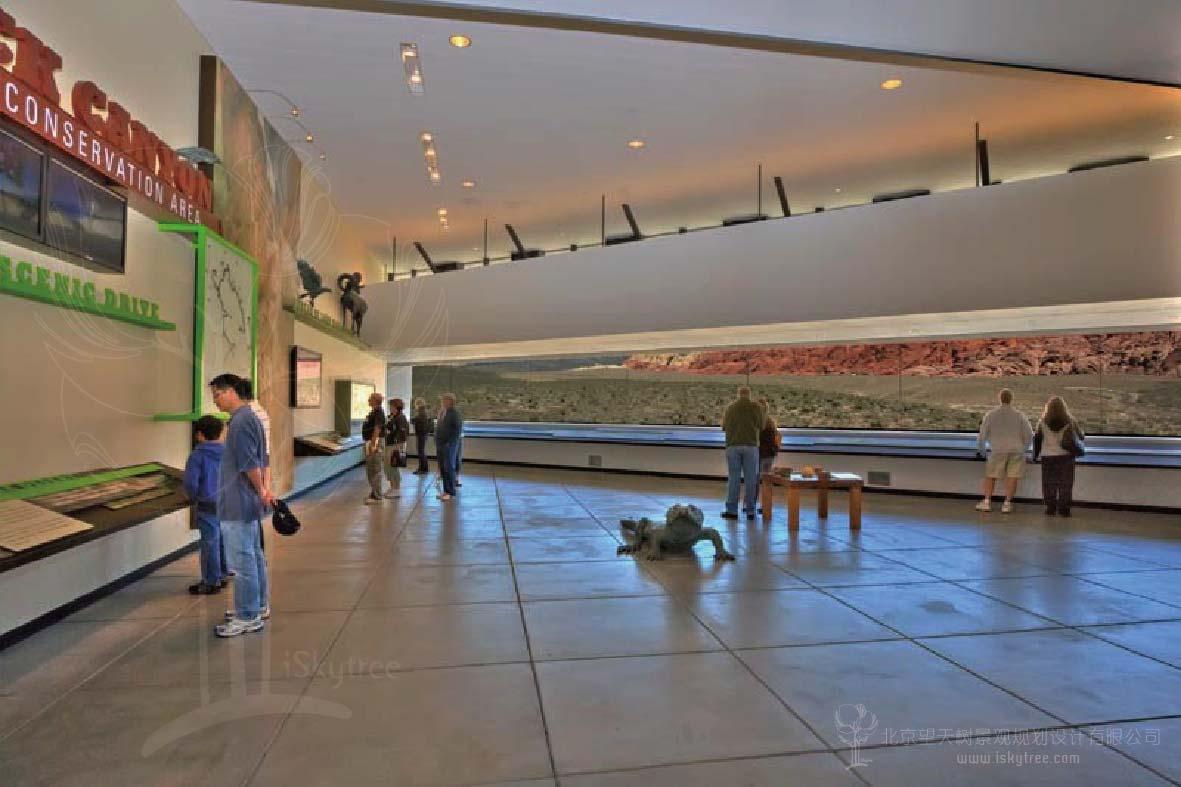 景区游客中心多媒体展厅设计