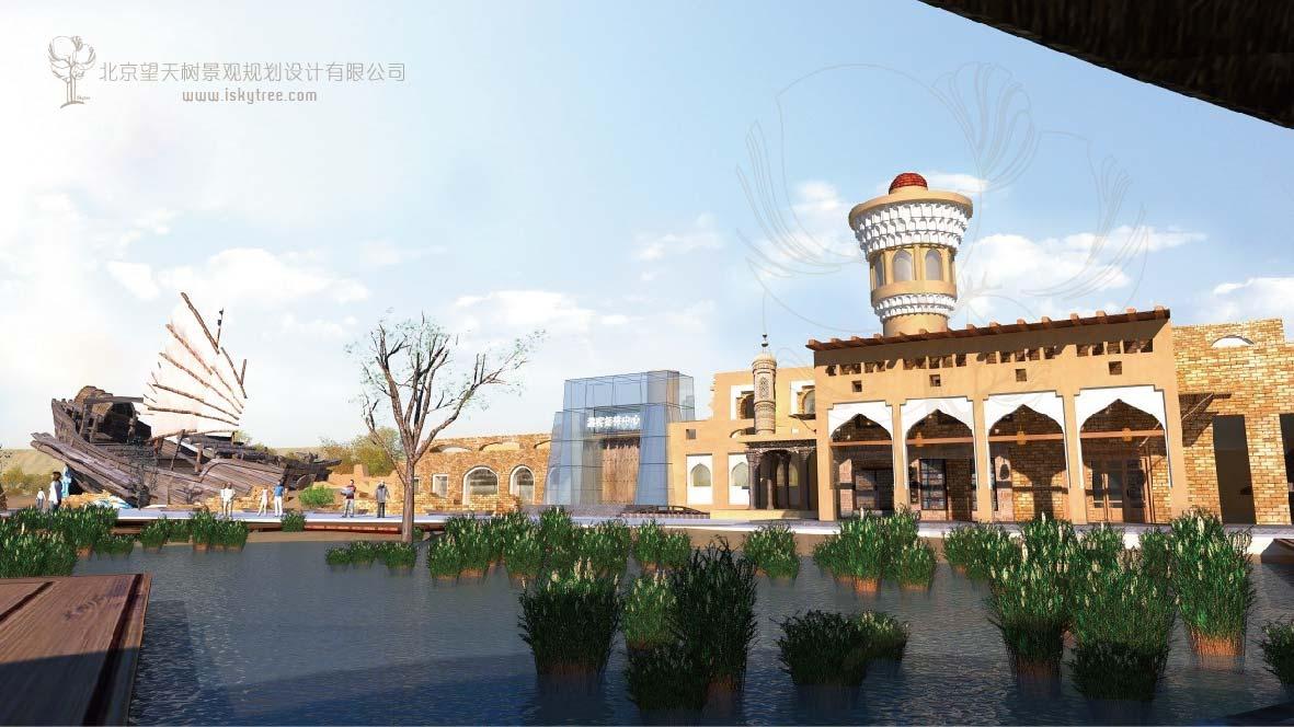 乌尔禾自驾车房车露营地游客接待中心建筑景观设计