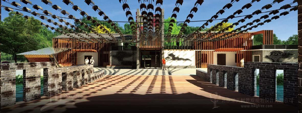 彩灯文化产业园 游客接待中心设计