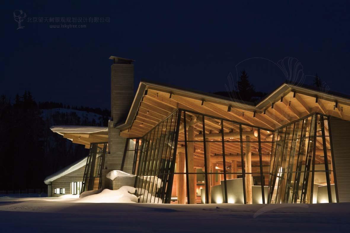 景区游客中心主体建筑设计