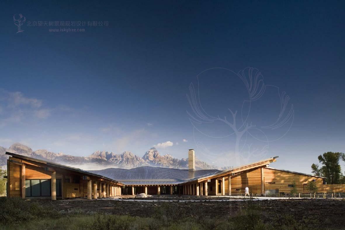 公园游客中心建筑景观设计