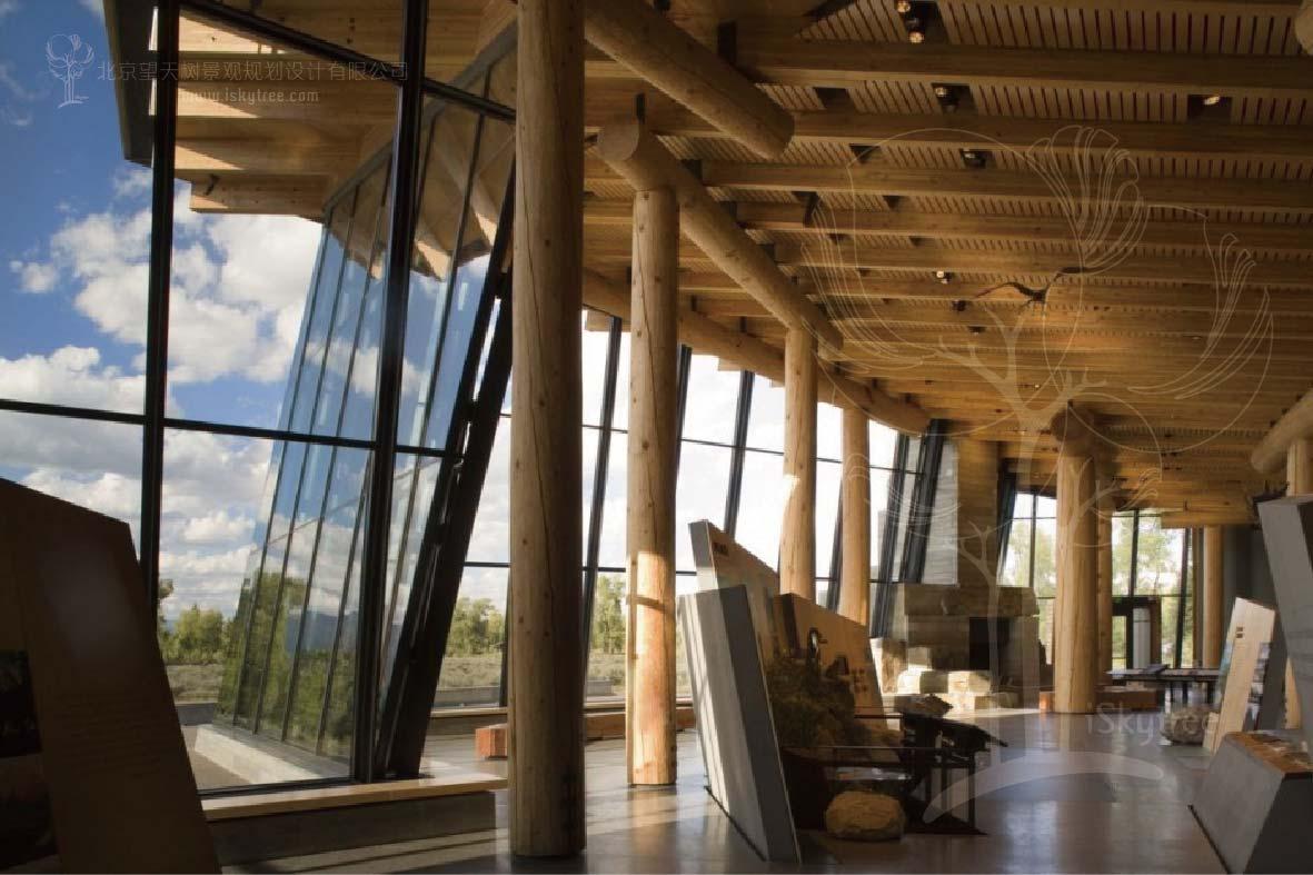 景区游客服务中心室内装饰设计