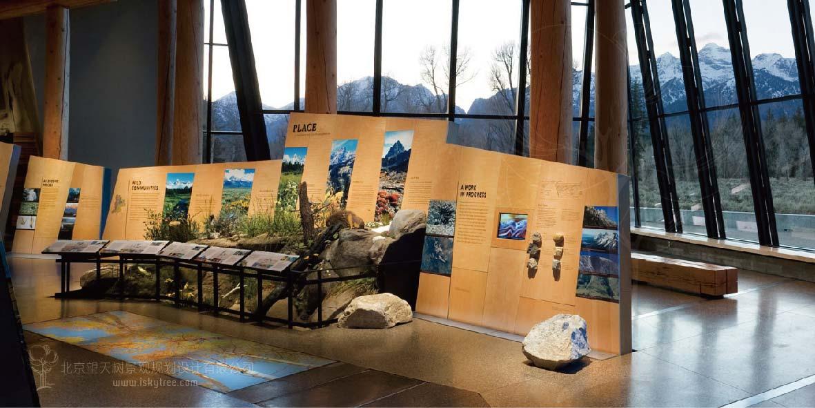 游客中心展示区设计