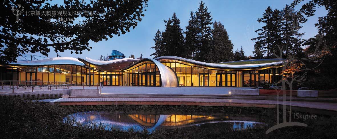 温哥华植物园游客中心设计