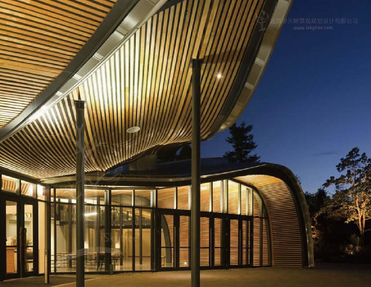 游客中心休闲区设计