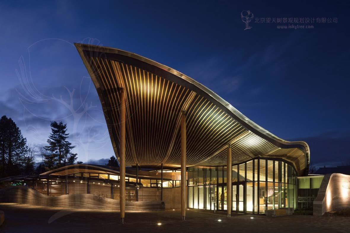 游客服务中心主体建筑设计