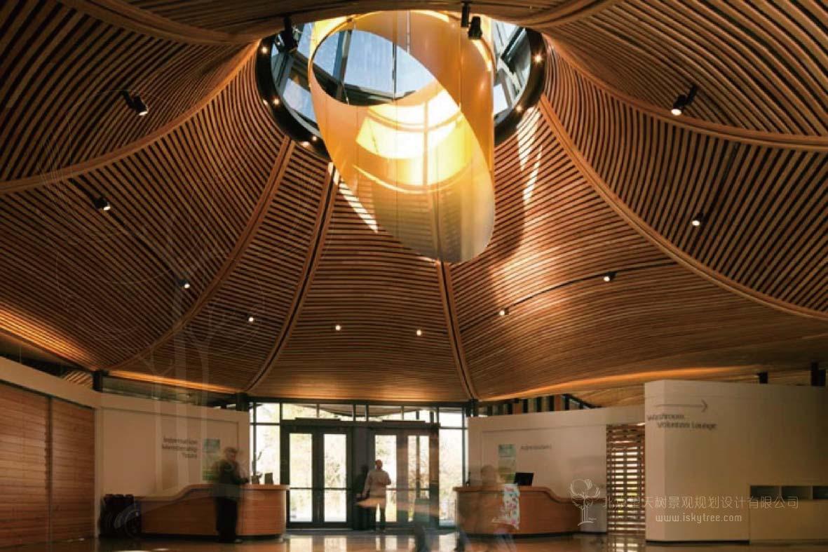 游客中心室内功能区设计