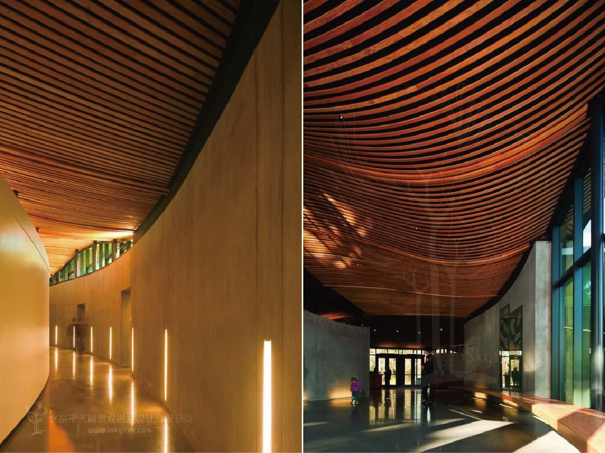 游客中心功能分区设计