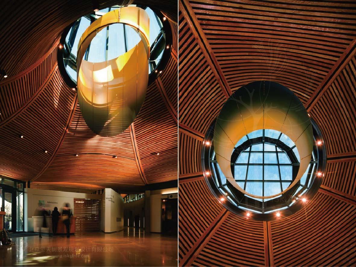 现代游客中心创意设计