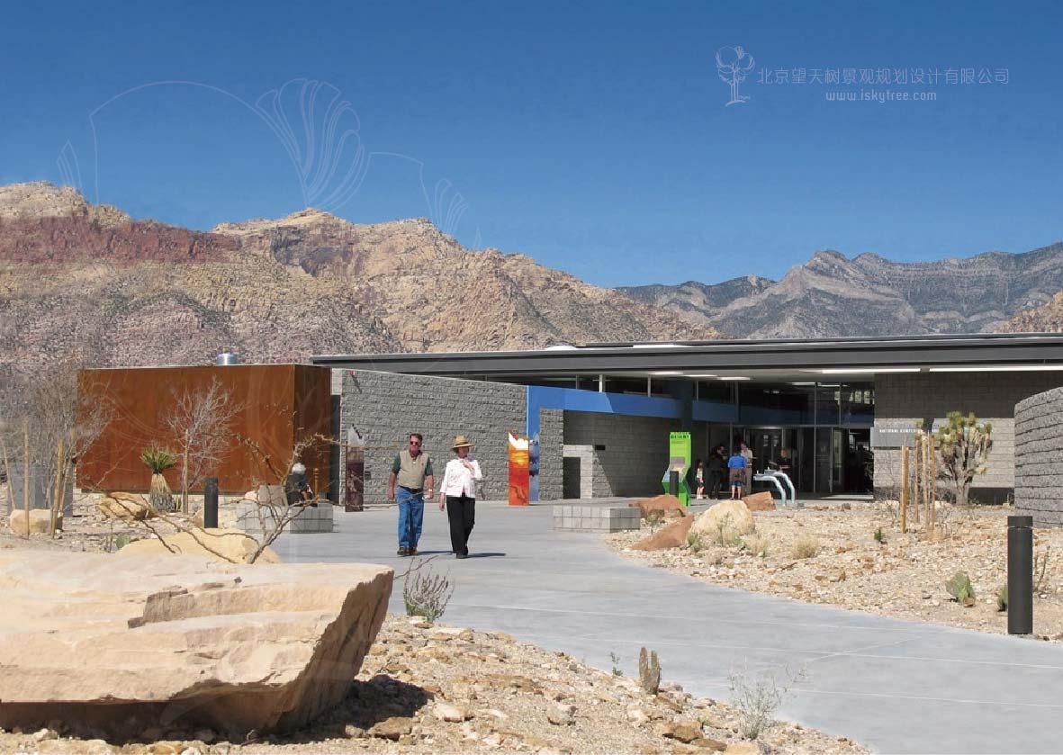 环保低碳的游客中心设计
