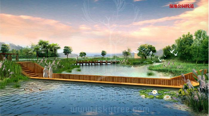 永新县·河东新区滨江公园景观环境设计