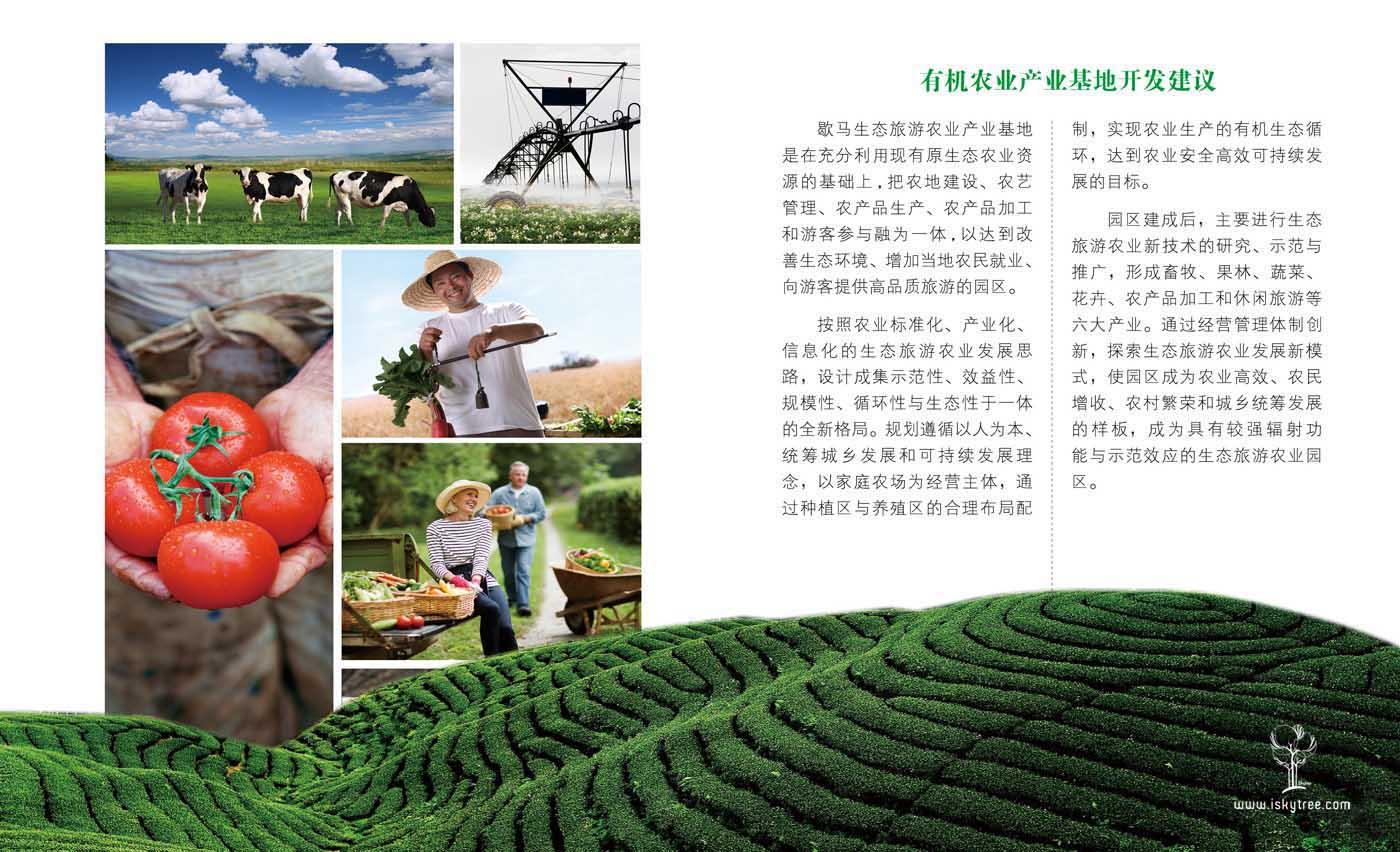 有机农业基地开发建议