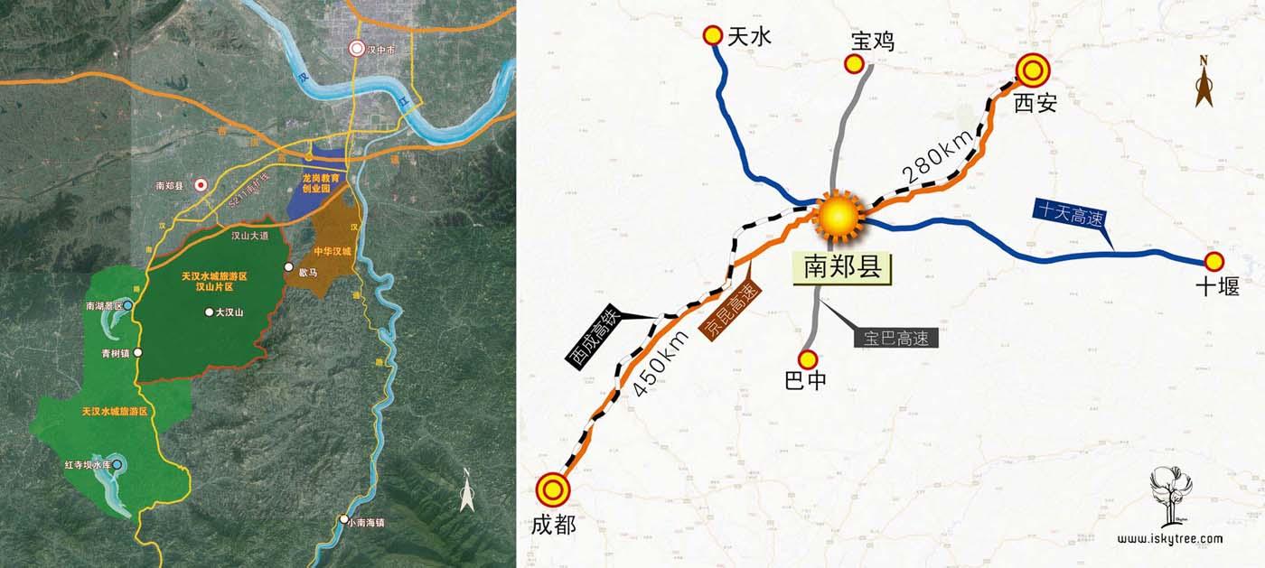 汉山项目交通区位分析