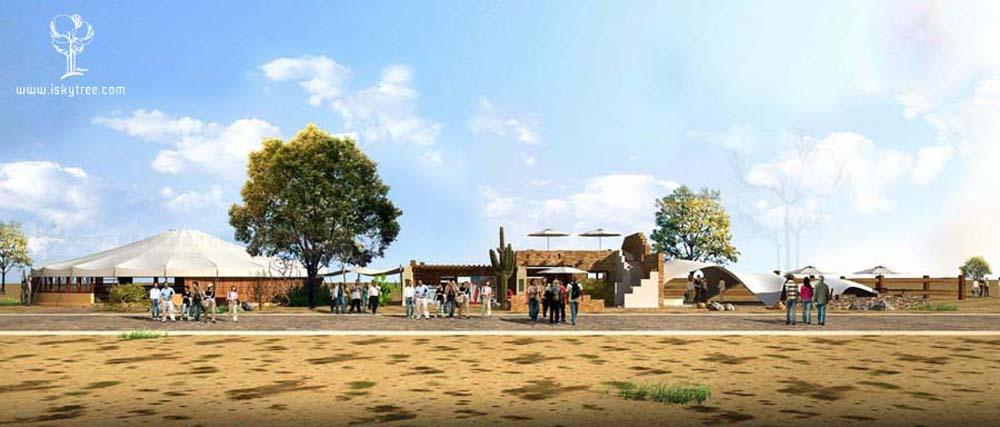 新疆玛依格勒游客中心设计