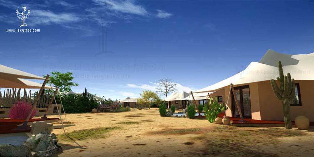 沙漠营地帐篷酒店设计