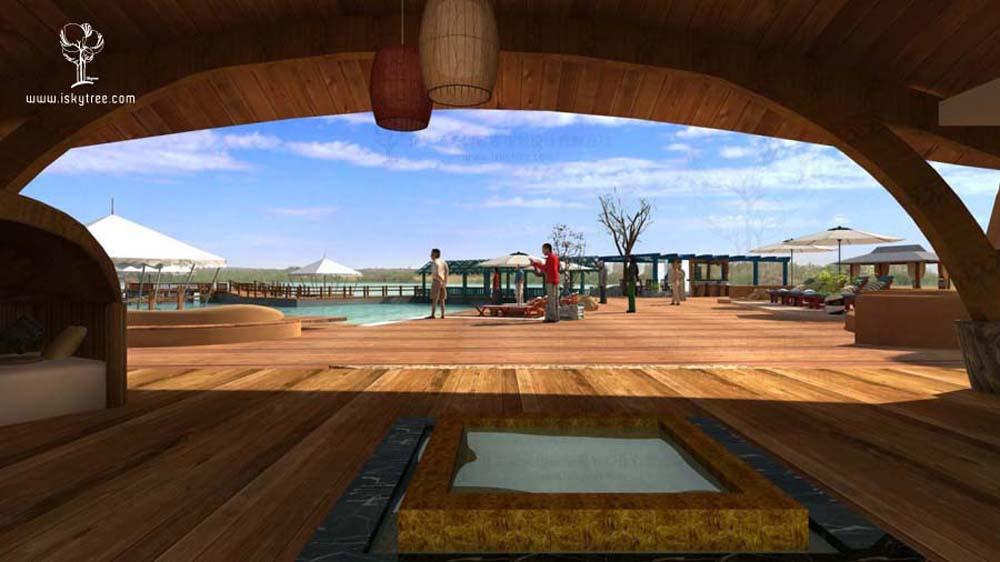 湿地休闲区设计