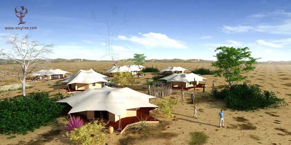 帐篷酒店建筑景观设计