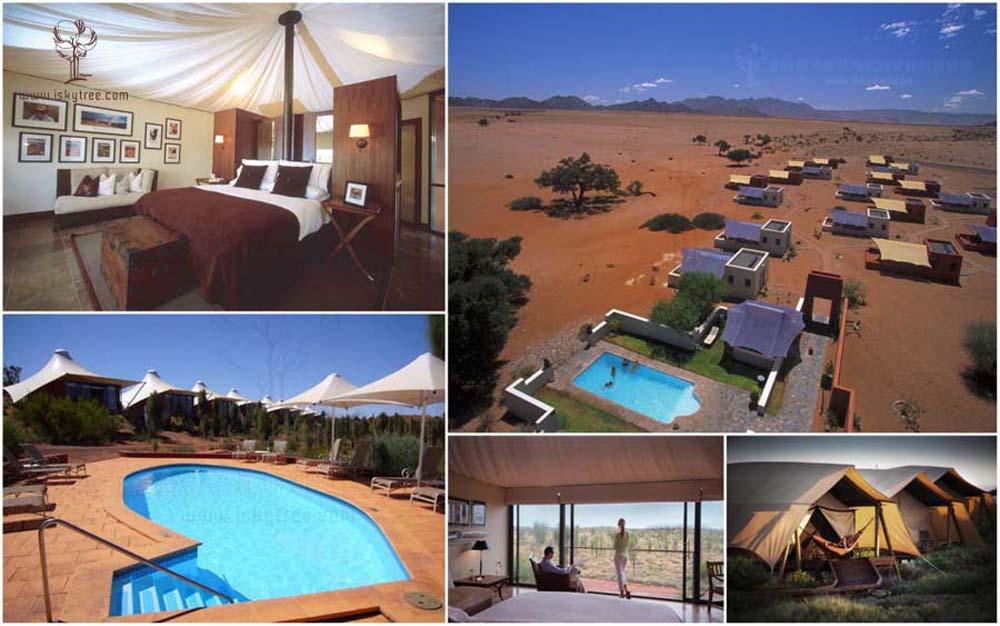 沙漠风情酒店建筑景观设计
