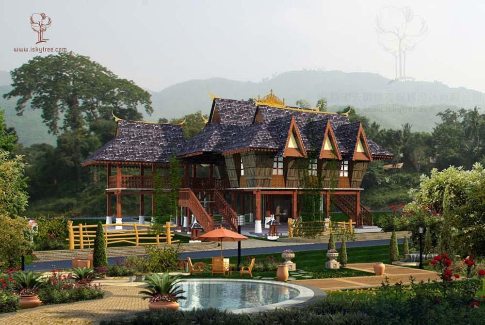 傣泰民居设计
