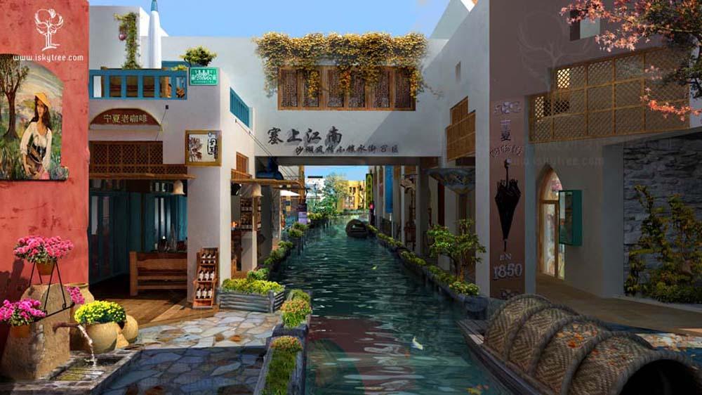休闲商业街区设计