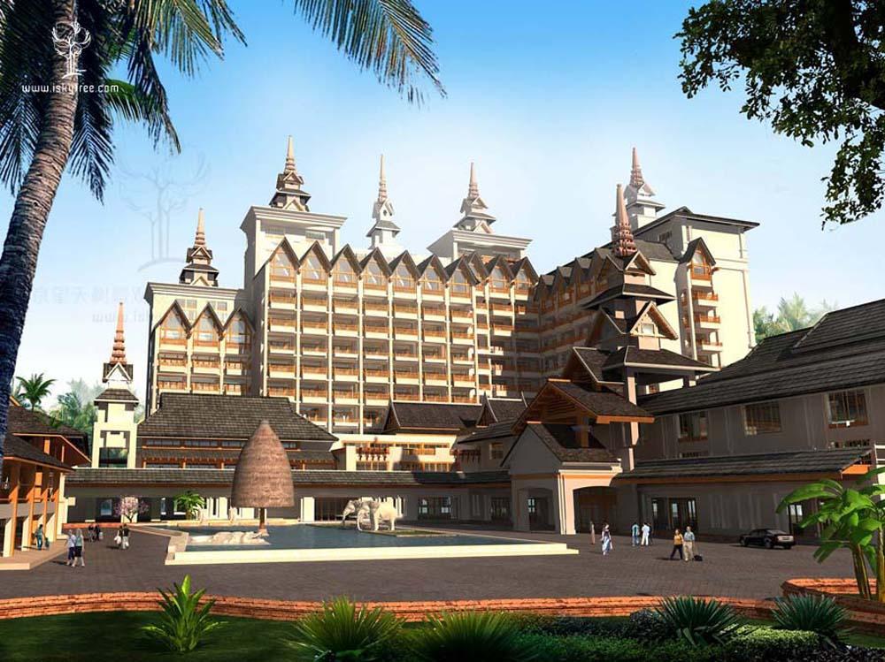 国际青年旅馆建筑景观设计