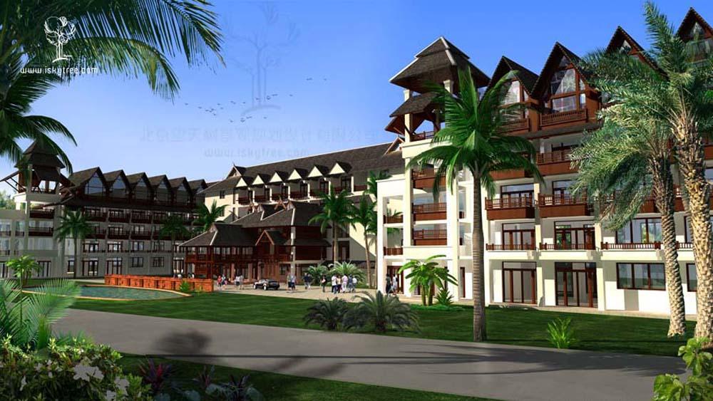 傣泰风格酒店设计