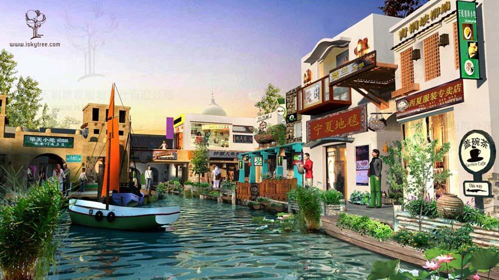 沙漠建筑设计