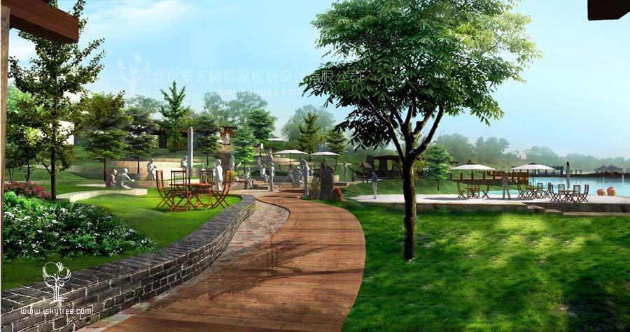 湿地广场设计