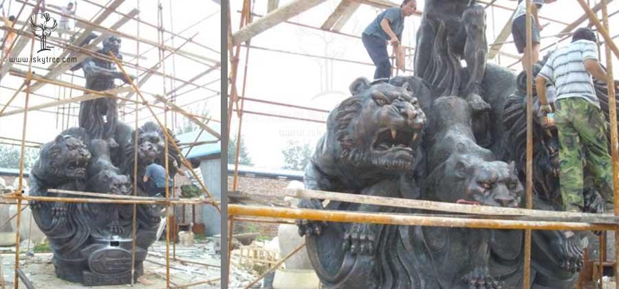 斯巴鲁雕塑安装制作