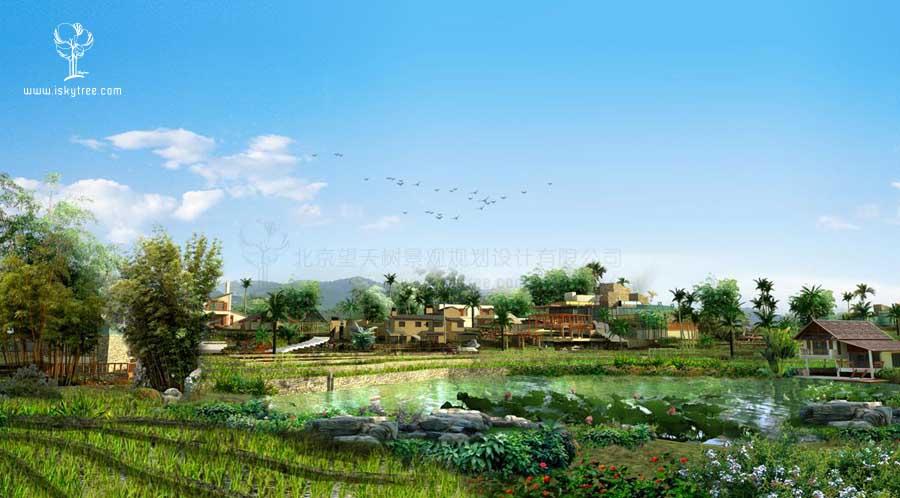 勐仑镇乡村旅游景观改造设计方案